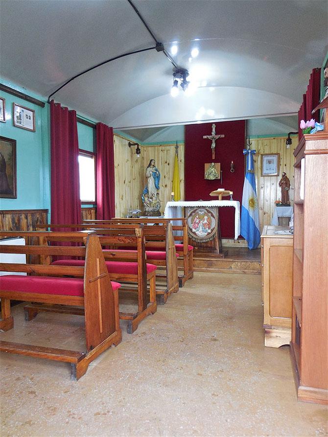 7 церквей Антарктиды