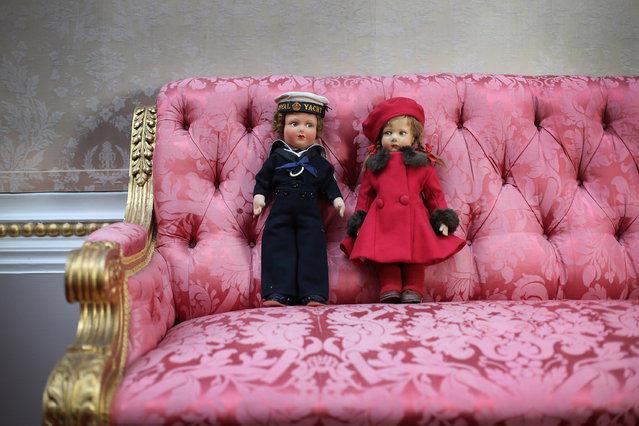 Экскурсия на выставку королевских игрушек