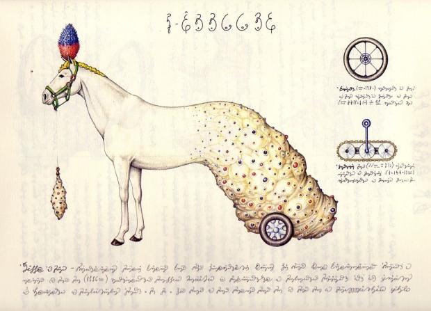 CodexSeraphinianus — энциклопедия на неизвестном языке, проиллюстрированная невозможными вещами