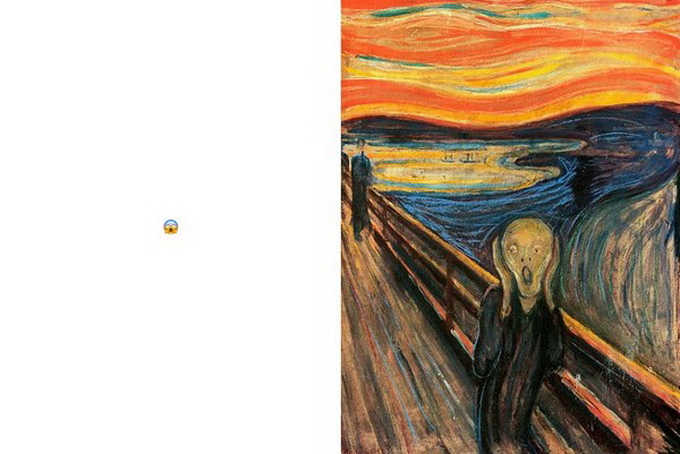 """""""Emoji-nation"""": живопись + социальные медиа"""
