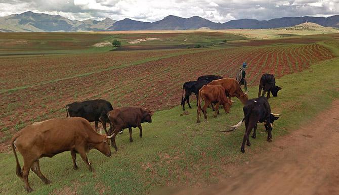 Путешествие в Королевство Лесото — Царство Неба