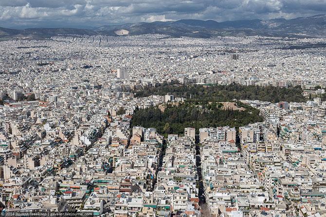 Афины с высоты птичьего полета