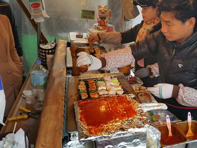 Гастрономическое путешествие по улицам Кореи