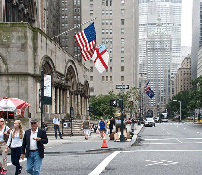 Удивительные фотографии Нью-Йорка вчера и сегодня
