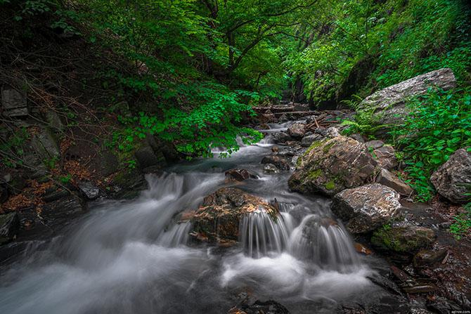 Горная Ингушетия. Прогулка к Ляжгинскому водопаду