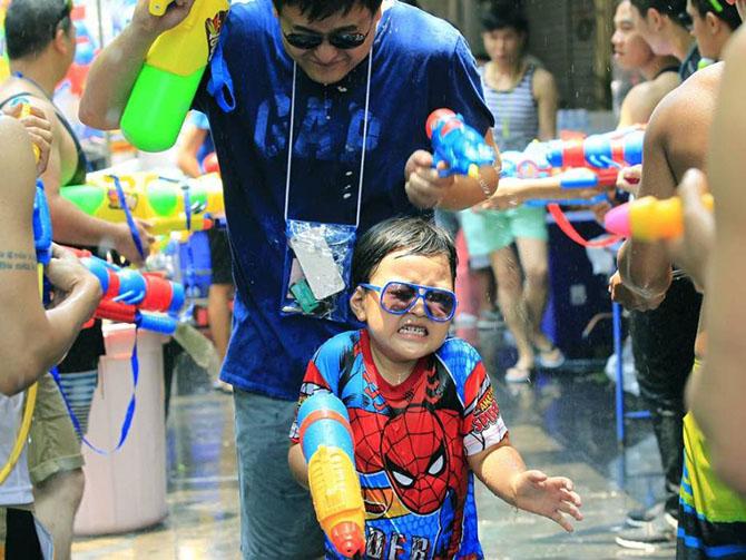 Фестиваль воды Сонгкран