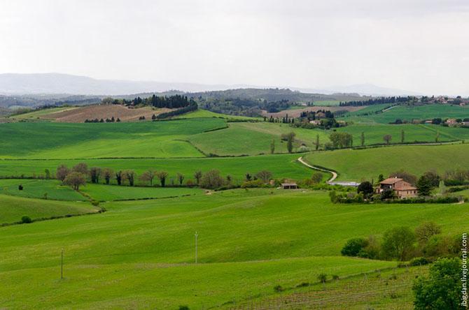Прогулка по Тоскане