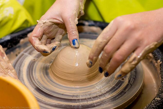 Как сделать вазу на гончарном круге