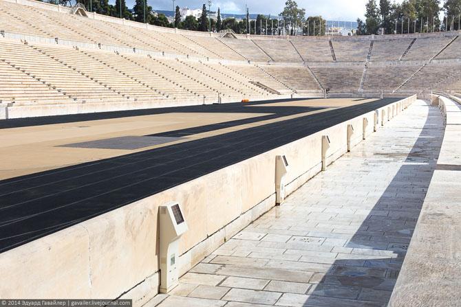 Экскурсия по мраморному стадиону первых Олимпийских игр