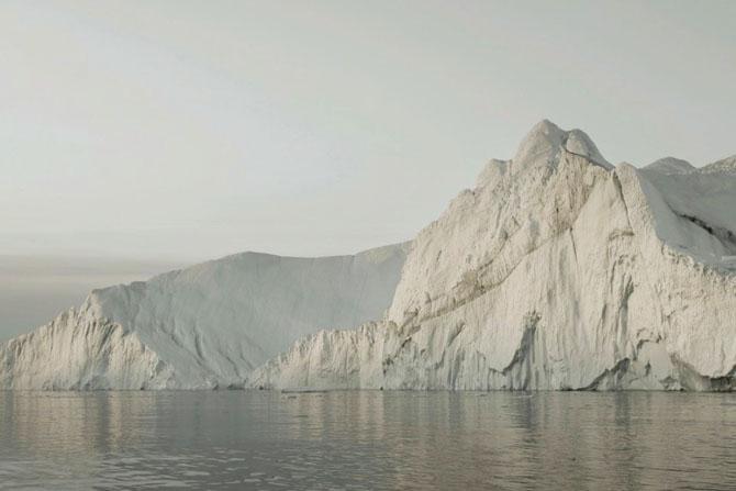 Величественное путешествие айсбергов