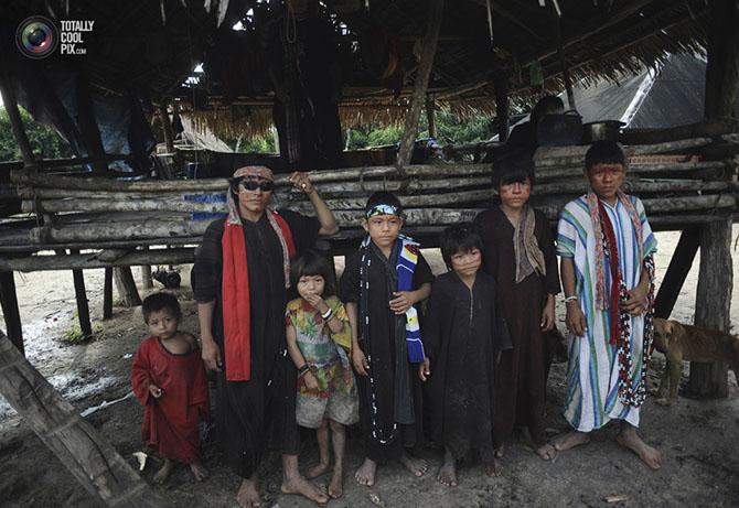 Как живут индейцы в амазонских джунглях