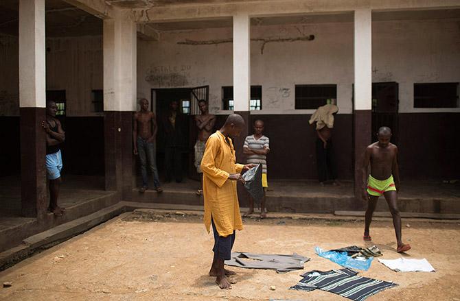 Жизнь за решеткой в Африке