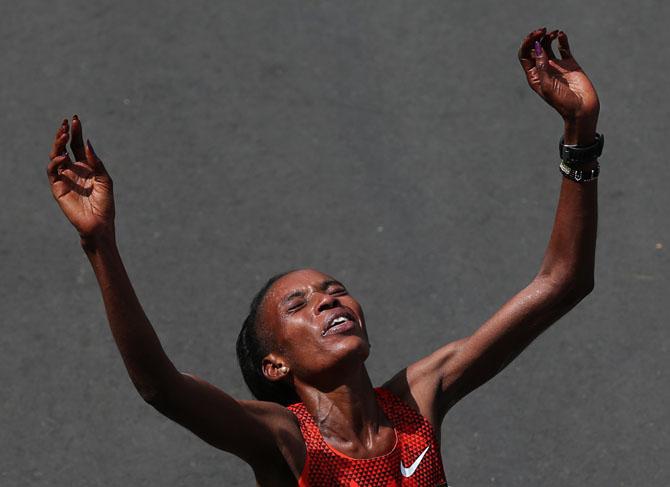 Как прошёл  118-й Бостонский марафон