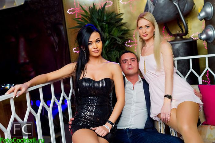 Посетители ночных клубов Москвы (47 фото)