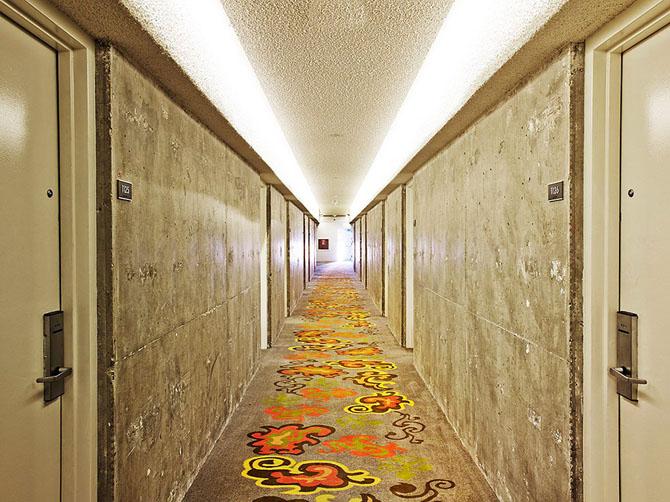 Смелый отель The Line в Лос-Анджелесе