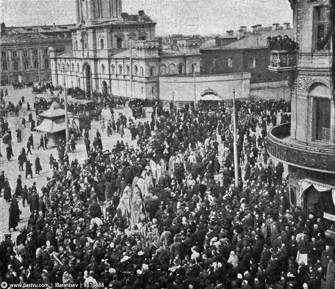 Прогулка по старой Москве на трамвае