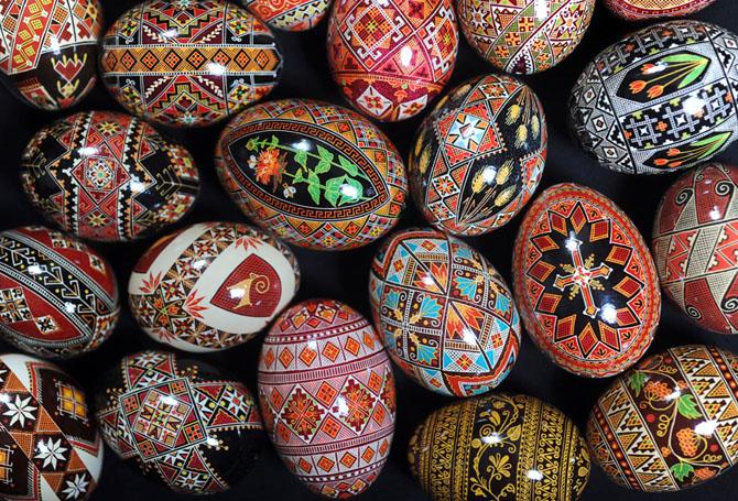 Искусство создания украинского пасхального яйца