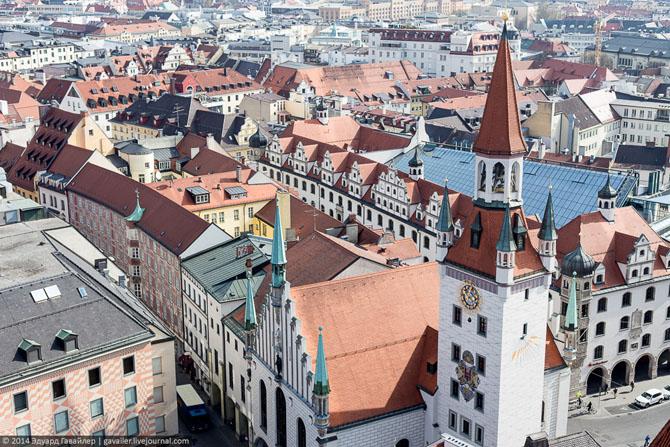 Несколько видов Мюнхена