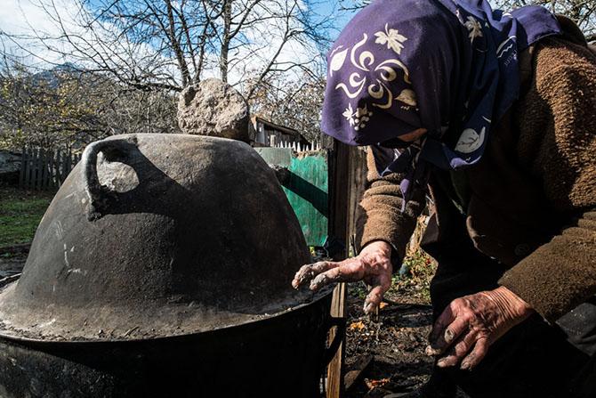 Как в Грузии добывают золото