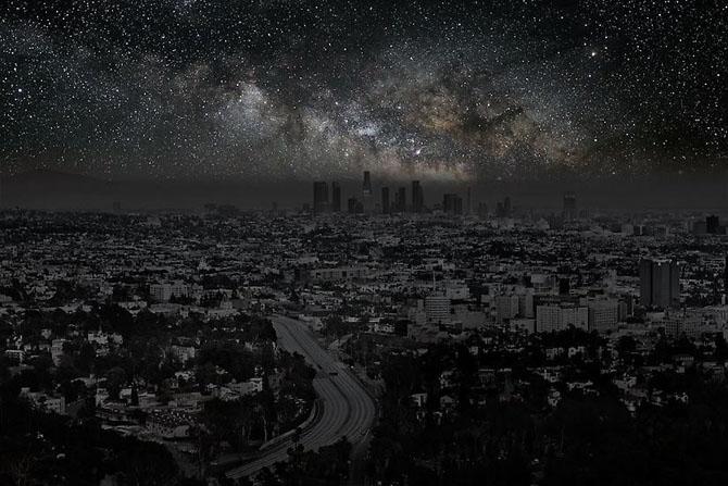 Когда большие города гасят огни