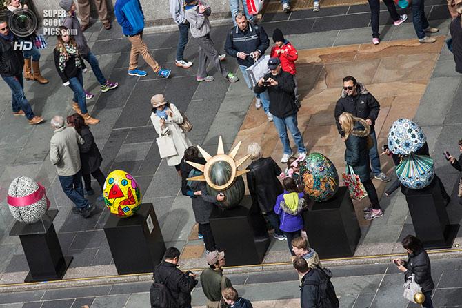 Выставка-аукцион пасхальных яиц Fabergе