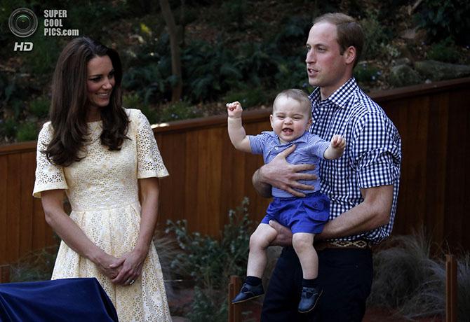 Приключения принца Уильяма и Кейт Миддлтон в Австралии