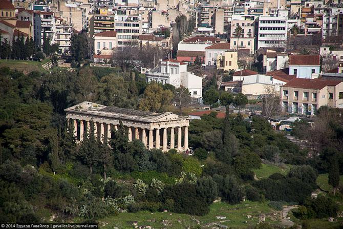 Афинский Акрополь и Парфенон