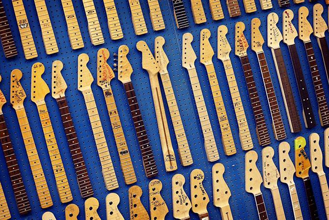 60-летний юбилей гитары Fender Stratocaster