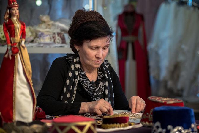 В гостях у художницы-модельера Зины Инаркиевой