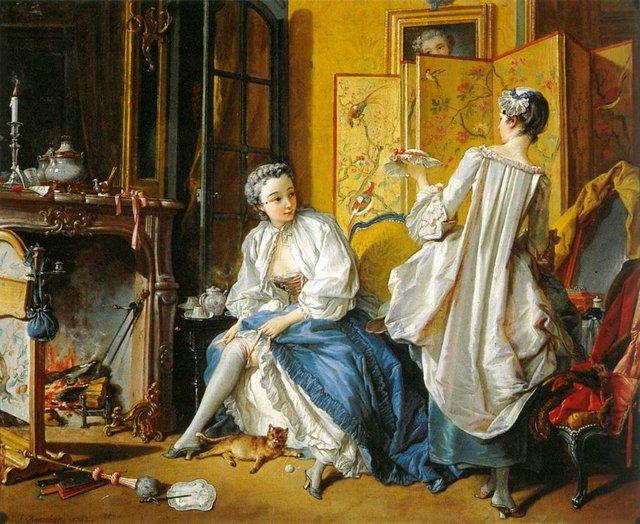 История женской подвязки