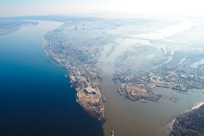 10 самых эффектных слияний рек