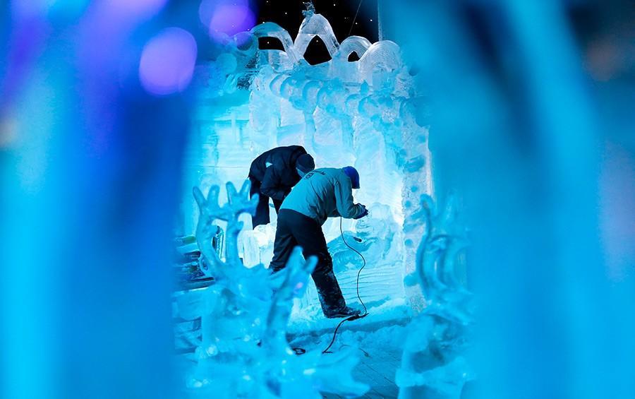 Фестиваль снежной и ледовой скульптуры