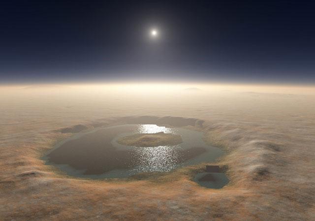 Как выглядел Марс 4 миллиарда лет назад?