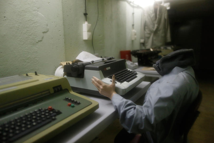 Ночевка в бункере в Восточной Германии
