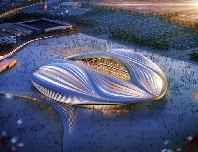 Стадион в Катаре Zaha Hadid