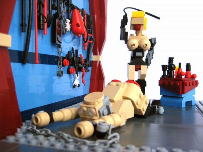 Креатив из Lego
