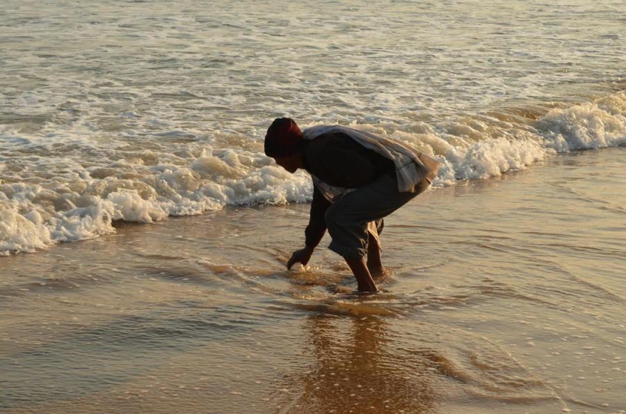 Индийский пляж