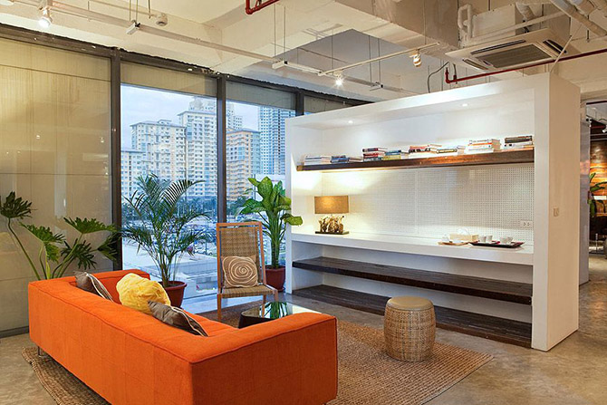 Офисы, в которых хочется работать