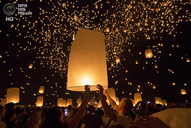 Фестивальные ночи в Мьянме и Таиланде