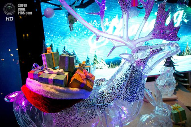 Рождественские витрины Нью-Йорка