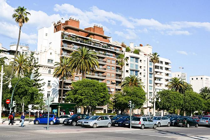 Прогулка по одному из крупнейших испанских городов