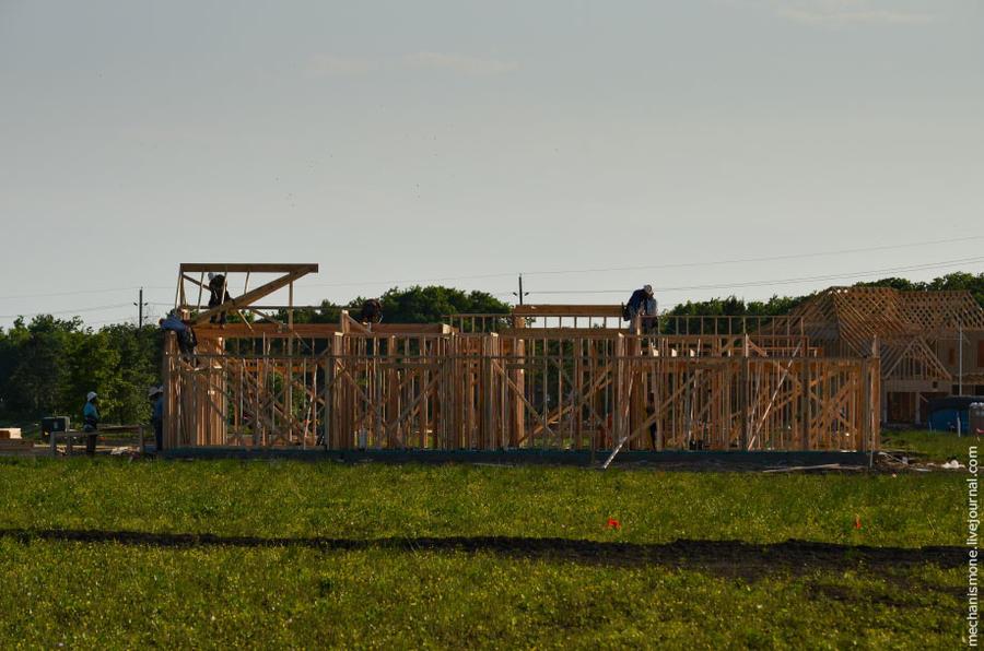 Как строят южные дома в США