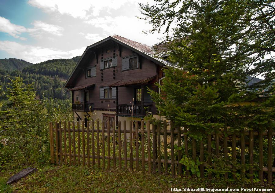 Альпийский посёлок