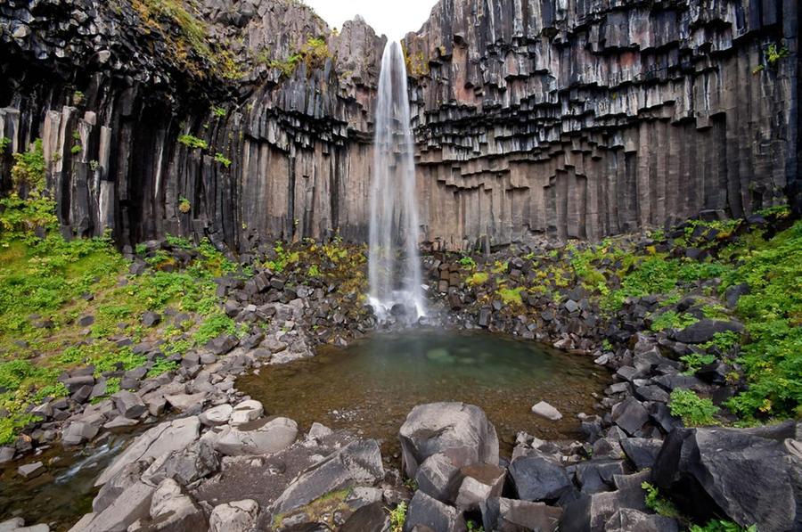 Красоты водопадов Исландии