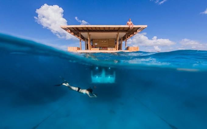 Отель Manta с подводными номерами (12 фото)