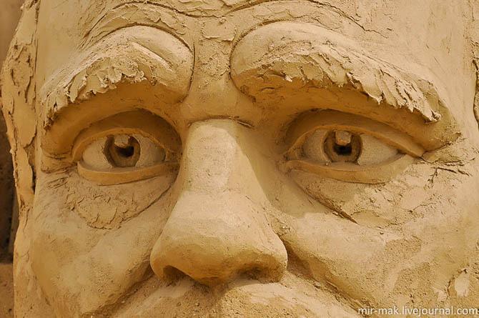 Фестиваль песчаных скульптур в Бургасе