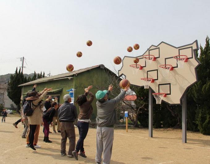 Баскетбольный щит Setouchi (6 фото)