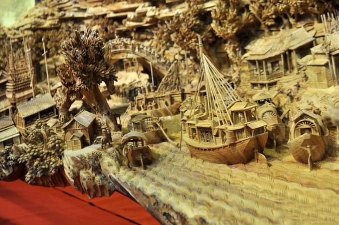 Скульптура Zheng Chunhui (5 фото)