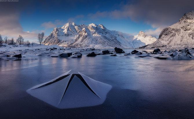 Зима на Лофотенских островах