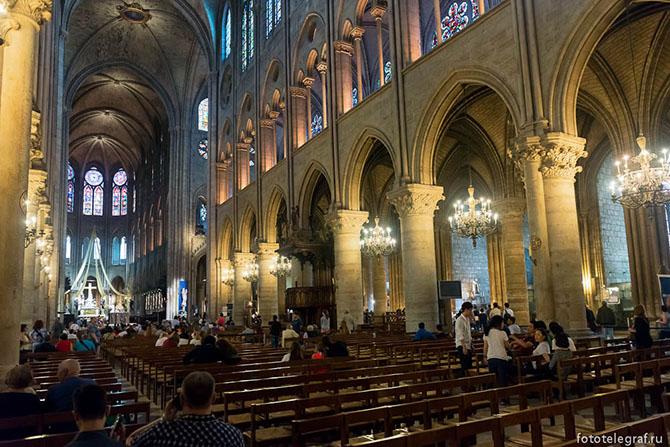 Экскурсия по собору Парижской Богоматери
